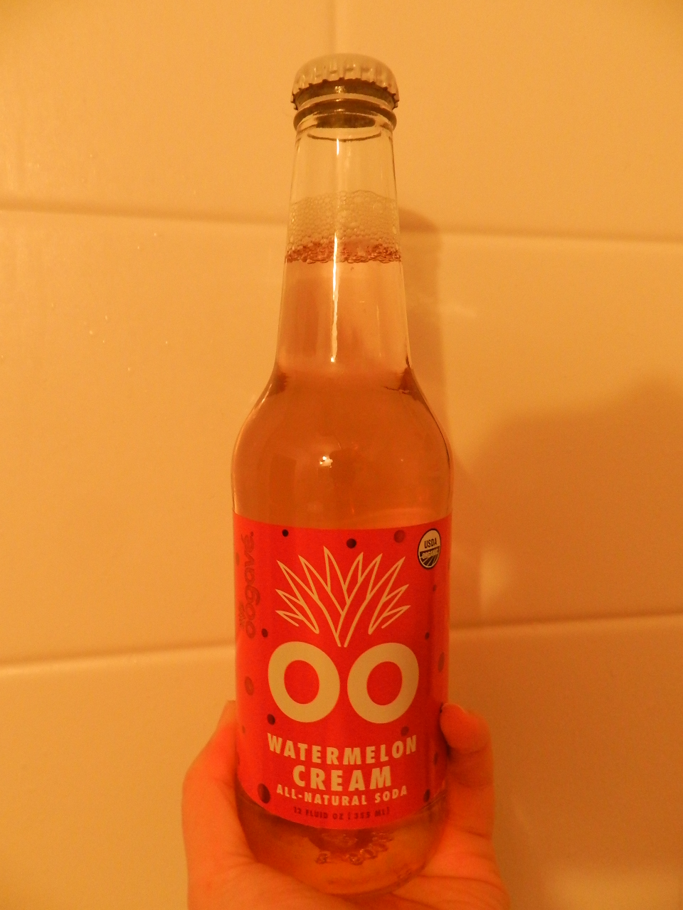 Weird Soda Review: Mystery Oogave #6: Watermelon Cream ...