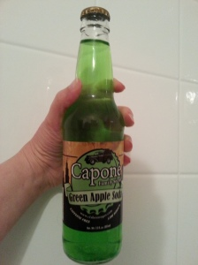 Capone Family Secret Green Apple Soda