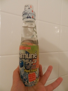 Ramune Plum Soda from Japan