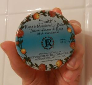 Smiths Rose and Mandarin Lip Balm