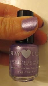 Play Love Laugh Nail Polish in Sweet Purple